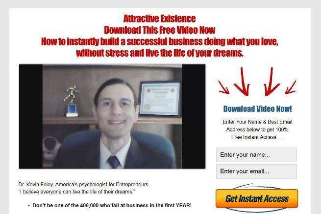 Custom Sales Funnel WordPress Theme Homepage Screenshot