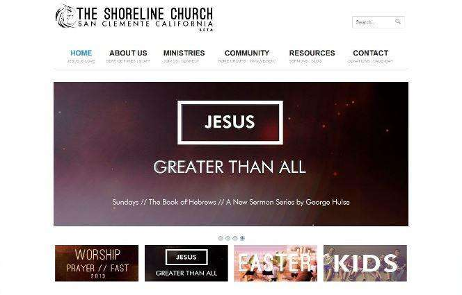 Designing A Church Website With WordPress